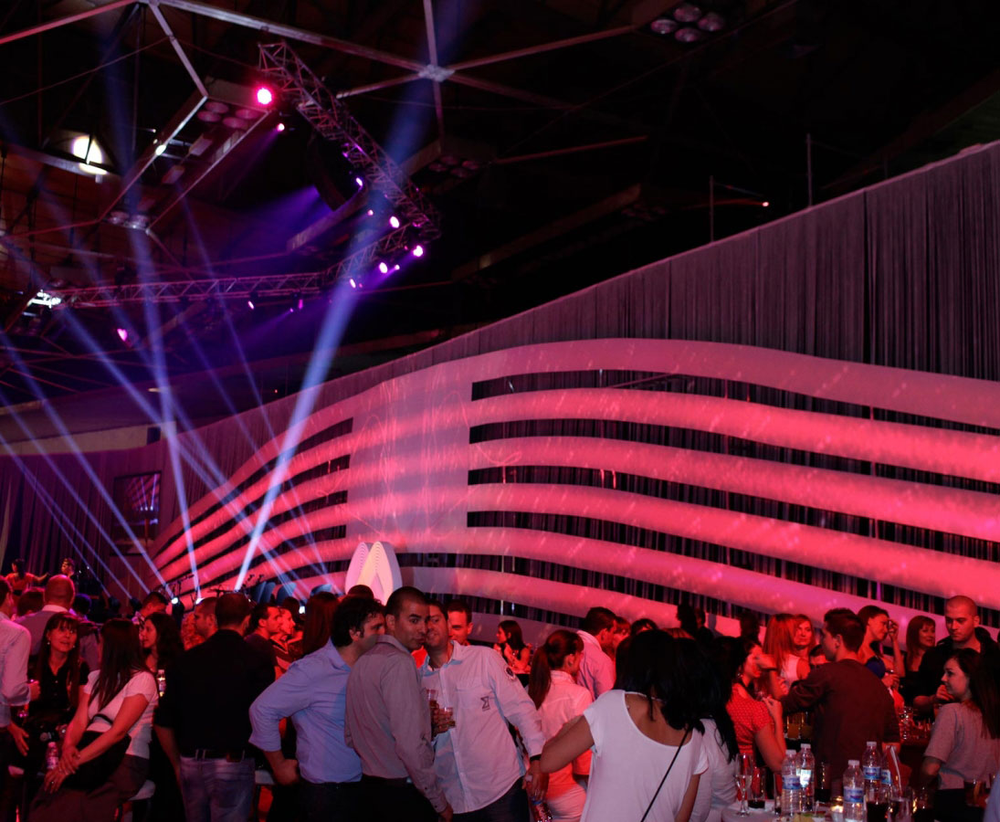 Corporate kick off party